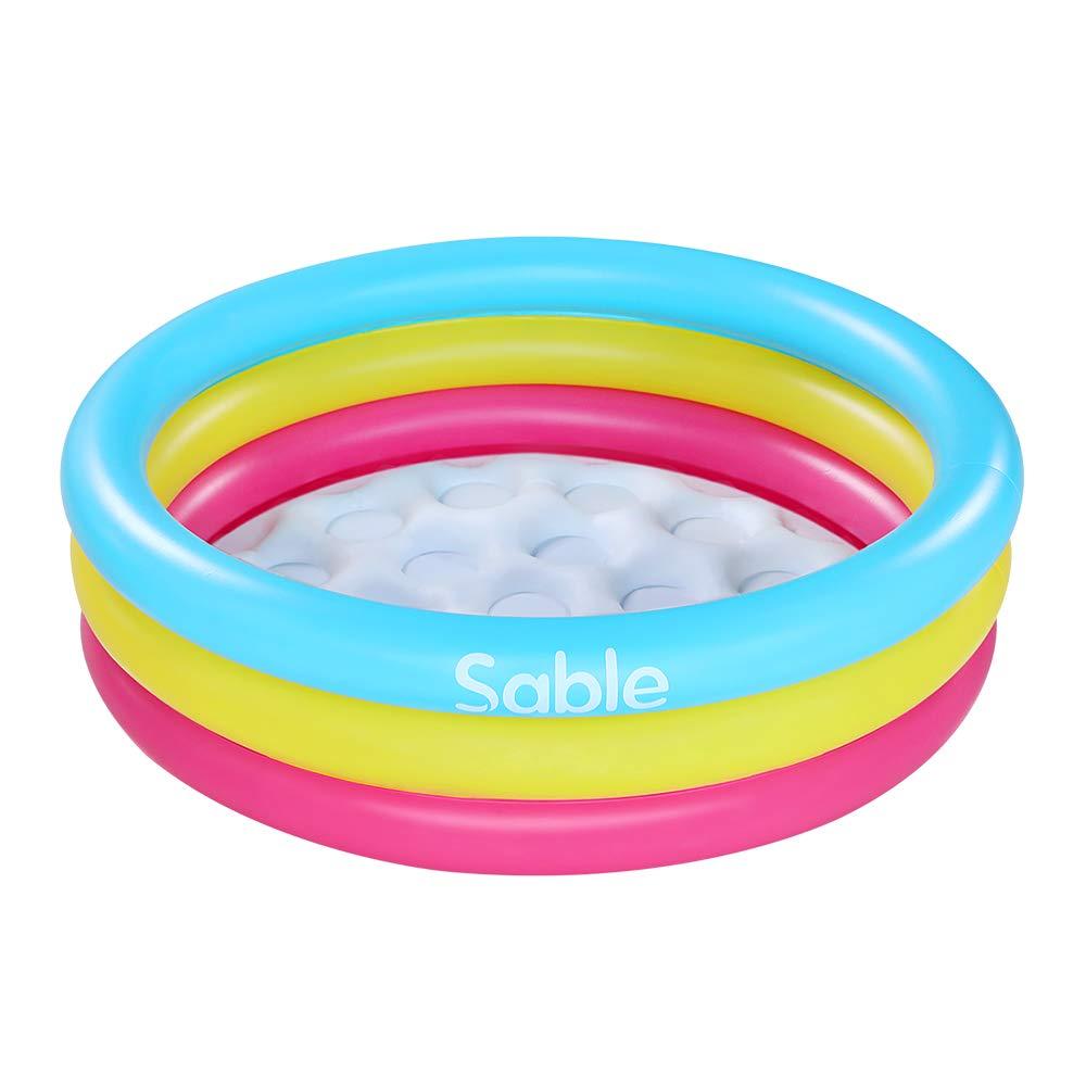 Amazon.com: Sable - Piscina hinchable para niños, deportes ...