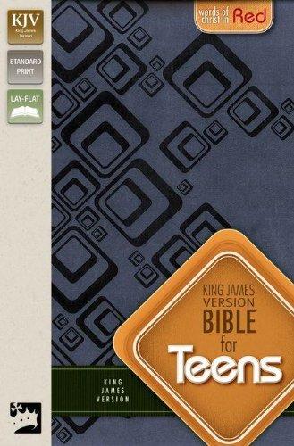 KJV, Bible for Teens, Imitation Leather, Blue, Red Letter