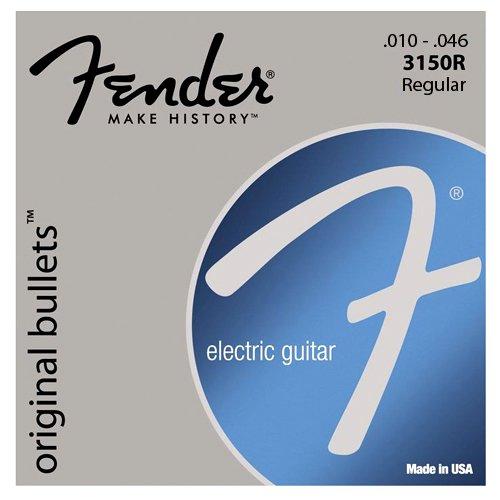 Fender Bullet Electric Guitar Strings - 3150R Bullet Electric Guitar