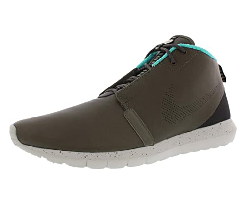0854a69201f8c Image Unavailable. Image not available for. Color  Nike Mens Rosherun NM  SneakerBoot Premium Boots Cargo Khaki Granite Hyper Jade ...