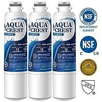 AQUACREST DA29-00020B Refrigerator Water Filter, Compatible with Samsung DA29-00020B, DA29-00020A, DA97-08006A, HAF-CIN/EXP, 46-9101, 469101, 9101, 4609101000