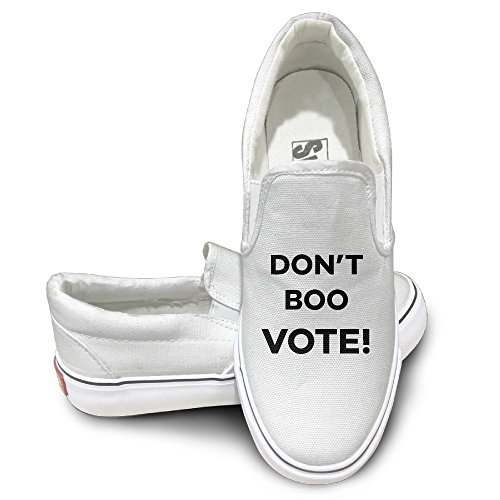 dont-boo-vote-wordmark-logo-casual-sneakers-skateboard-shoes