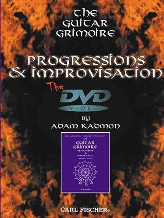 Amazon.com: Adam Kadmon: The Guitar Grimoire - Progressions and ...