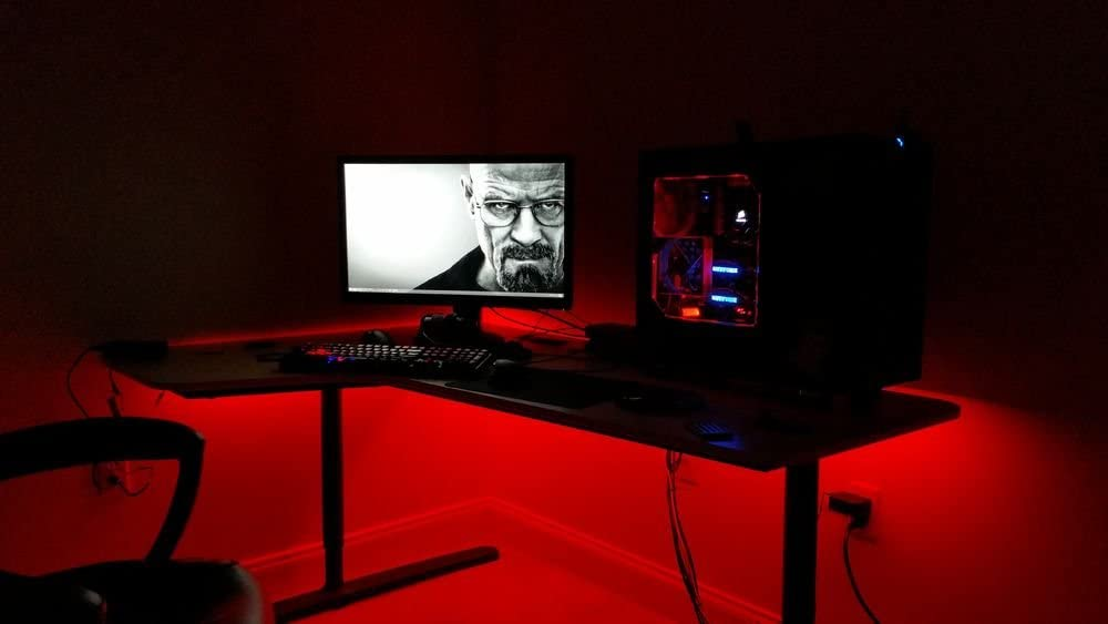 Amazon.com KIDS Room - LED Light kit for  YOUR  Computer Desk / Study Desk / Gamer Desk -- Lighting KIT is Super Bright -- Lifetime Warranty -- Remote ... & Amazon.com: KIDS Room - LED Light kit for