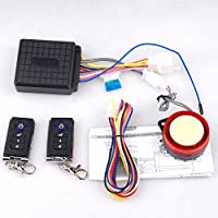 CISNO ATV Security Kit Alarm System for 50CC-125CC Taotao Kazuma Roketa Sunl Anti-theft with Dual Remote Controller
