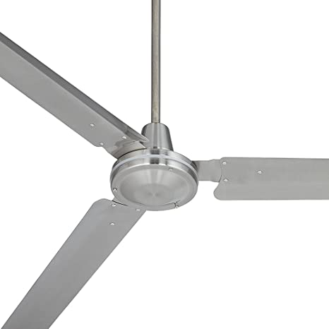 Lovely 72u0026quot; Casa Velocity Brushed Nickel Ceiling Fan