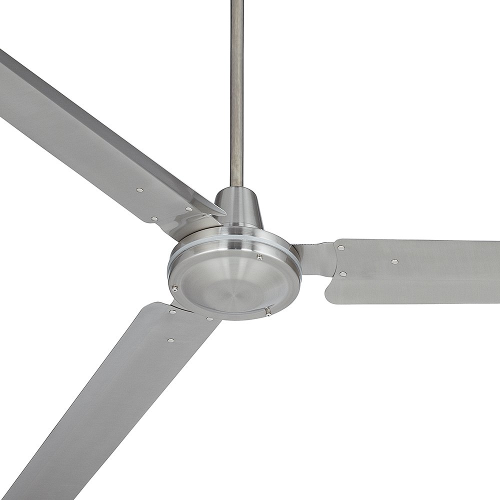 72'' Casa Velocity Brushed Nickel Ceiling Fan by Casa Vieja