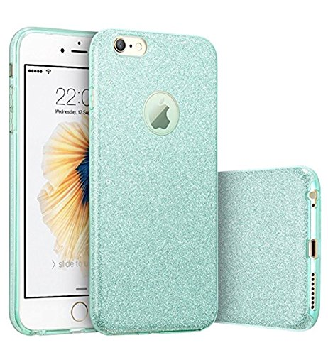 Hovisi Glitter Protective Cover [Soft TPU Cover + Glitter Paper + PP Inner Layer] for iPhone 6 / 6S 4.7 inch (Color5)