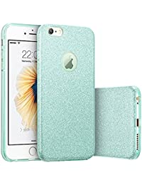 Glitter Protective Cover [Soft TPU Cover + Glitter Paper + PP Inner Layer] for iPhone 6plus/6S plus5.5 inch