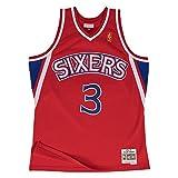 Allen Iverson Philadelphia 76ers Mitchell & Ness Swingman Jersey Red (X-Large)