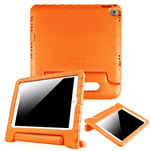 iPad Air 2 Case - Fintie Kiddie Series Light Weight Shock Proof Convertible Handle Stand Cover for Apple iPad Air 2 (2014 Release), Orange