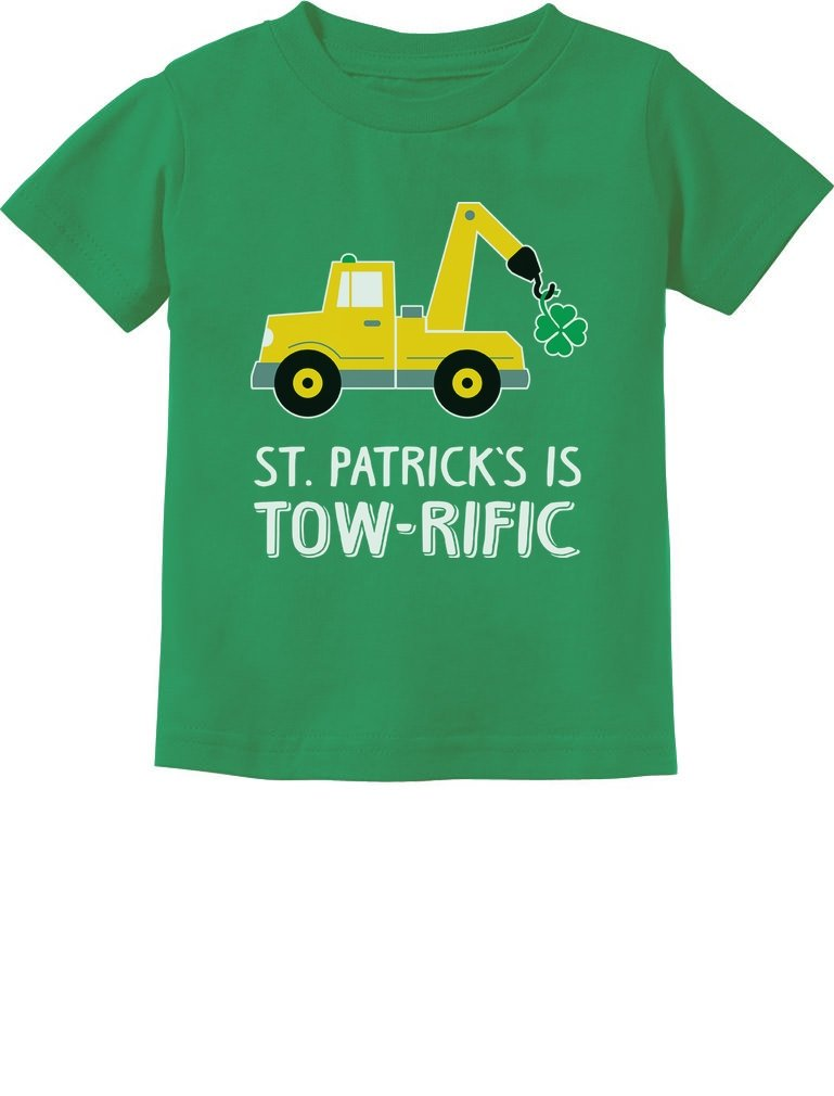 St Patrick S Day Gift Clover Tractor T Shirt