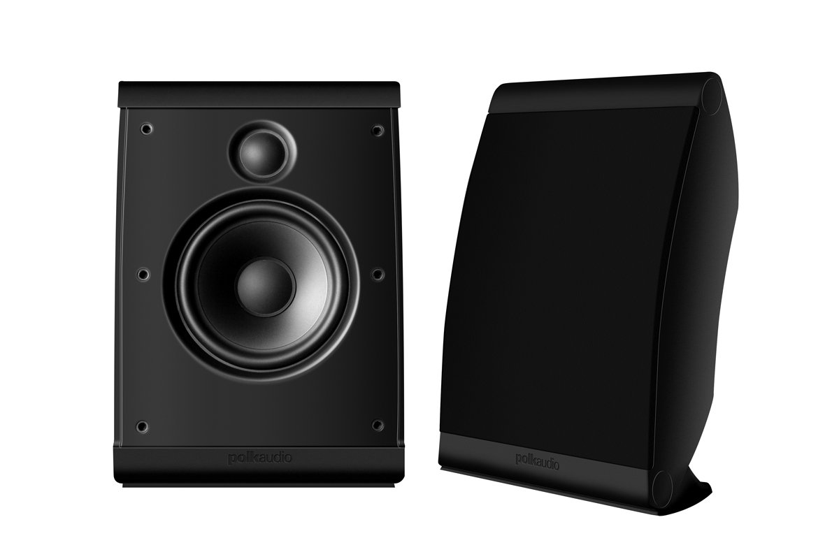 Parlantes Traseros Polk Audio Owm3 Pared O Estante [2 Un.]