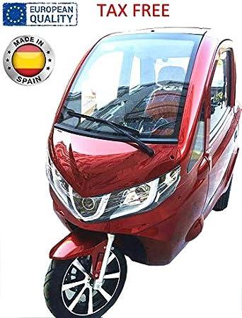 Triciclo eléctrico urbano, Urban Trike, transporte en la ciudad 1200W