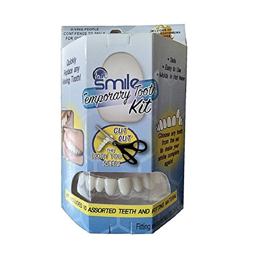 (Yiitay Temporary tooth repair kit Temporary Missing Tooth Kit Complete Temp Dental Replacement Tooth Repair Kit)