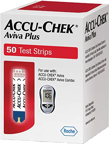 Accu-Chek Aviva Plus 50 Test Strips (Accu Chek Aviva Plus Test Strips 50ct)