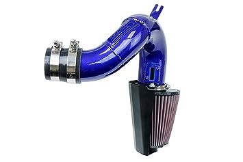 HPS Blue Shortram Air Intake Kit with Heat Shield for 17-18 Honda Civic Type