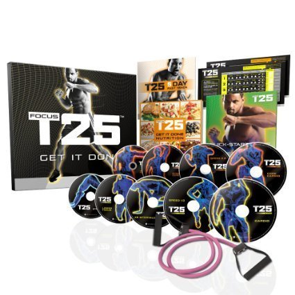 FOCUS T25 Shaun T's NEW Workout DVD Program—Get It Done in 25 Minutes (Sports & Fitness Dvds & Videos)