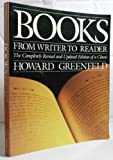 Books from Writer to Reader, Howard Greenfeld, 0517568403