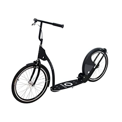 """Current Coasters Foldable Kickbike Scooter for Teens and Adults with 20"""" Wheels … (Australian Gray): Toys & Games"""