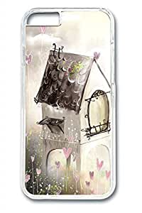 Beautiful Illustrations Slim Soft Cover for iPhone 4s Case PC Transparent Cases