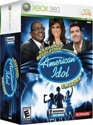 Karaoke Revolution Presents: American Idol Encore BUNDLE - Xbox 360 (Konami American Idol Games Karaoke)