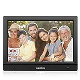 Digital Picture Frame, APESIN 11.1 inch HD Screen Motion Sensor(Black)