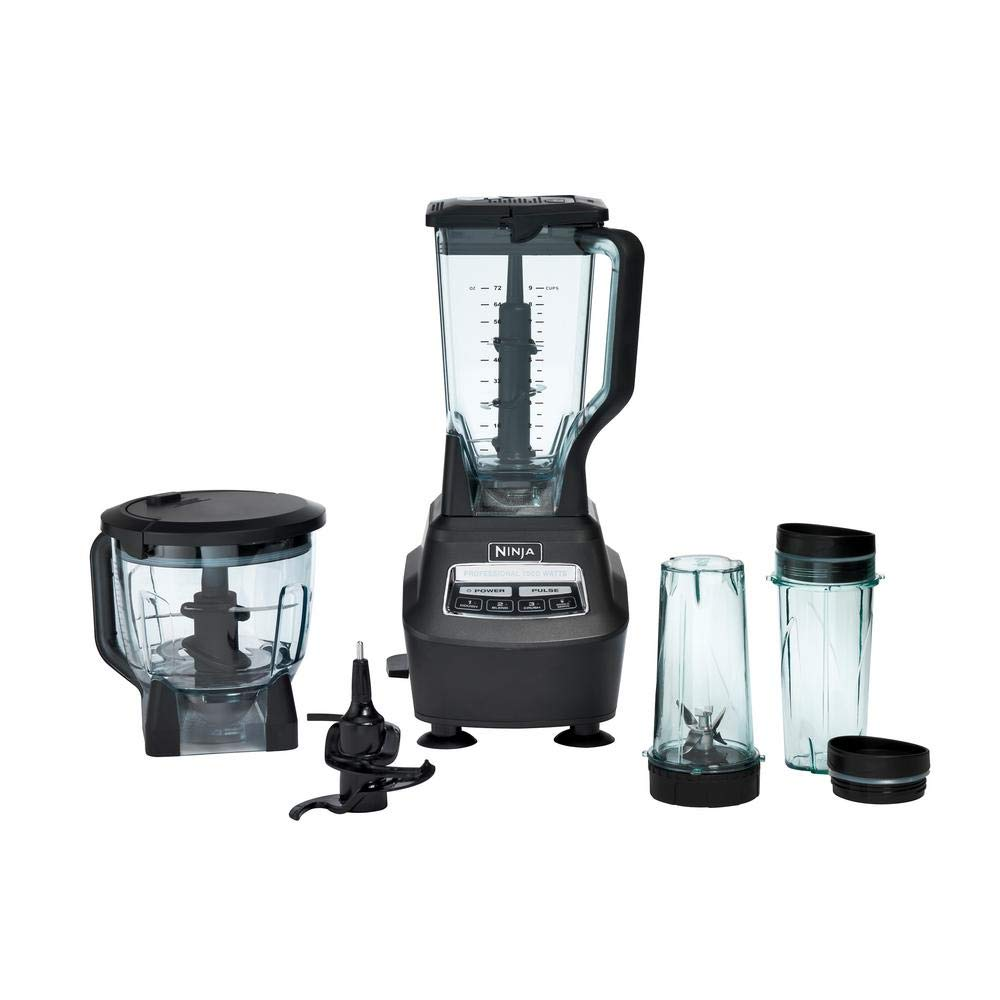 Ninja BL770 MEGA Blender with Single Serve