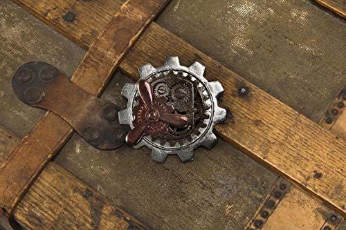elope Women's Propeller Gear Steampunk Pin (Steampunk Lapel Pin)