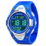 Boys Digital Watches, Kids Sports Watch with Alarm, Outdoor 50M Waterproof Childrens Electronic Wrist Watches with LED Light Stopwatch for Teenagers Boys