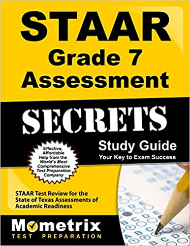 Book STAAR Grade 7 Assessment Secrets Study Guide: STAAR Test Review for the State of Texas Assessments of Academic Readiness