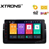 XTRONS 9 Android 8.0 Octa Core 4G RAM 32G ROM HD Digital Multi-touch Screen OBD2 DVR Car Stereo Player Tire Pressure Monitoring Wifi OBD2 NO-DVD for BMW E46 3er M3 Rover75 MG ZT