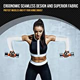 Arm Sleeves for Men and Women – 1 Pair – Tattoo Cover Up, Sun Protection Clothing - Cooling UPF 50 Compression Shields for Basketball, Baseball, Running, Cycling, Golf, Volleyball, Football, Driving