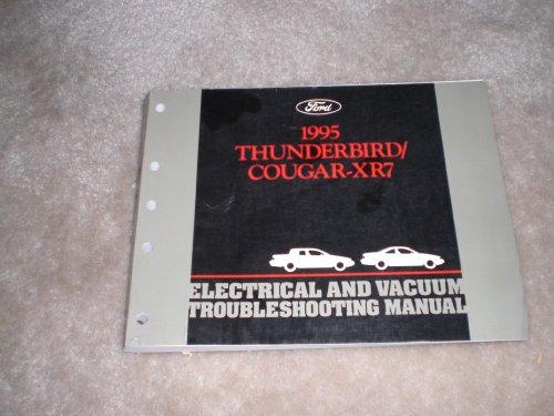 Cougar Vacuum (1995 Ford Electrical Vacuum Troubleshooting Manual Thunderbird/ Cougar-xr7)