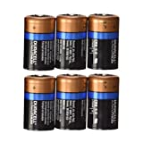 Duracell Ultra CR2 Lithium Photo 6 Batteries DL-CR2