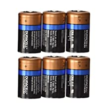 Duracell Ultra CR2 Lithium Photo 6 Batteries DL-CR2