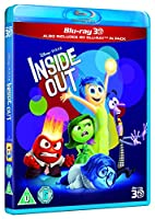 Inside Out [Blu-ray 3D + Blu-ray] from Walt Disney Studios Home Entertainment