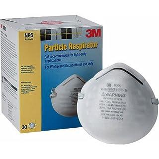 3M Respirador de partículas 8000N95, 30-Pack 3M shonma-9077813