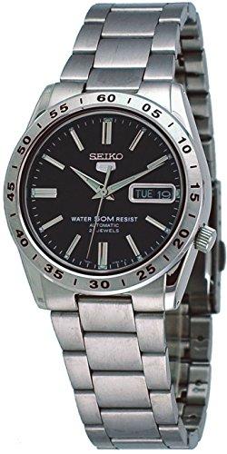 Seiko-5-Automatic-Black-Watch-SNKE01K1