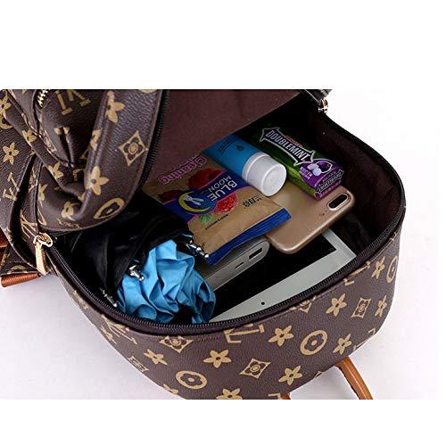 Minimalista Zaino Spalla Stampata Donna Moda Borsa A Khaki Borsa qBAwB0rx6