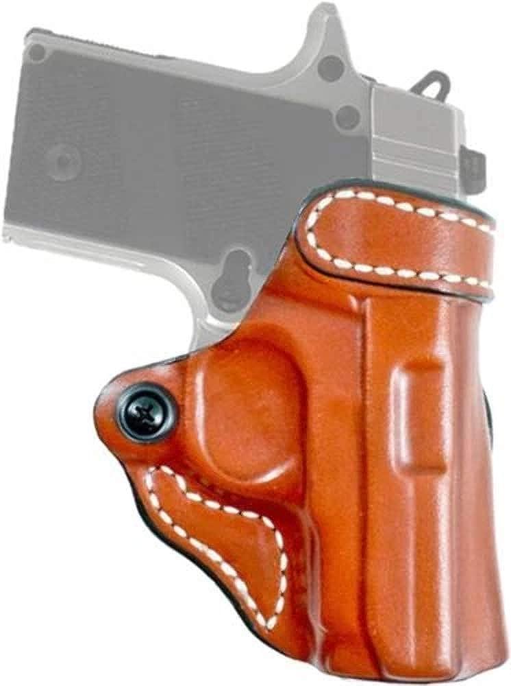 DeSantis The Criss-Cross Glock 43 155TA8BZ0 Gun Belt, Natural, Right