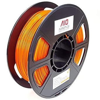 AIO Robotics AIOORANGE PLA filamento para impresora 3D, carrete de ...