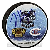 Jimmy Hayes Boston Bruins Signed Autographed 2016 Winter Classic Dueling Puck