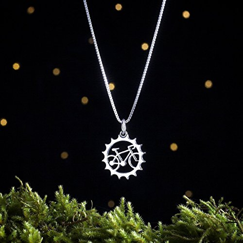 Sterling Silver Bicycle Charm made our list of gifts for active women so if you want unique camping gifts for her, you'll find tons of them in our hand-selected list of gift ideas for women who hike, fish and camp!