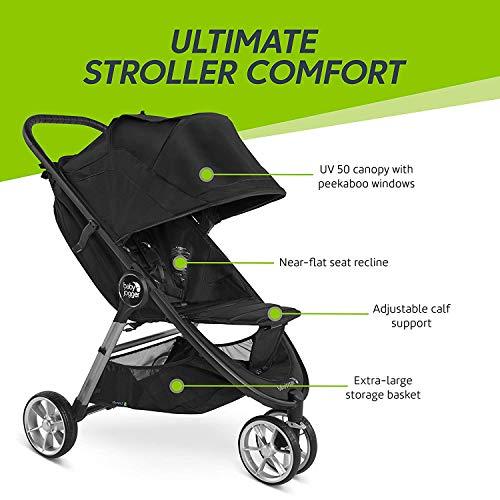 51c8isWTAYL - Baby Jogger City Mini 2 Travel System, Jet