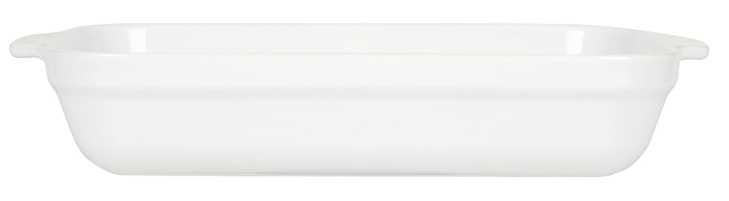 Emile Henry 14-by-11-Inch Lasagna Baker, White 59636