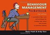 Behaviour Management Pocketbook, Peter Hook and Andy Vass, 1906610436