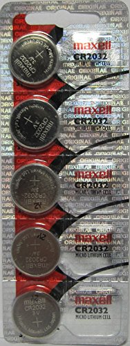 Maxell CR2032 5-Pack 3V Lithium Coin Cell Batteries by Maxell - Watch Maxell Coin Battery