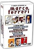 7 chef-d'oeuvre de Marco Ferreri (La grande bouffe ; Touche pas a la femme blanche ; Dillinger est mort ; Contes de la folie ordinaire ; La petite voiture ; Pipicacadodo ; La semence de l'homme)