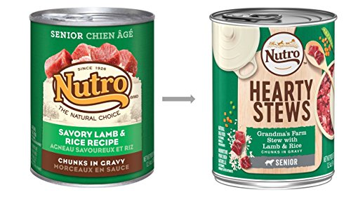NUTRO-Senior-HEARTY-STEWS-Grandmas-Farm-Stew-with-Lamb-Rice-Chunks-in-Gravy-Canned-Dog-Food-125-Ounces-Pack-of-12